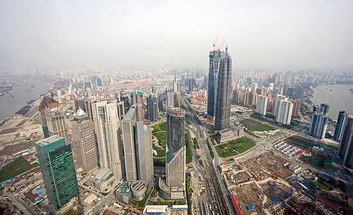 9._view_on_pudong_from_oriental_pearl_tower_by_keith_marsahll